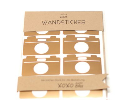 Wandsticker Kamera