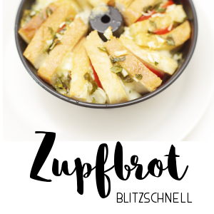 Rezept // Zupfbrot blitzschnell