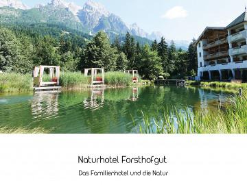 Naturhotel Forsthofgut // Das Familienhotel und die Natur