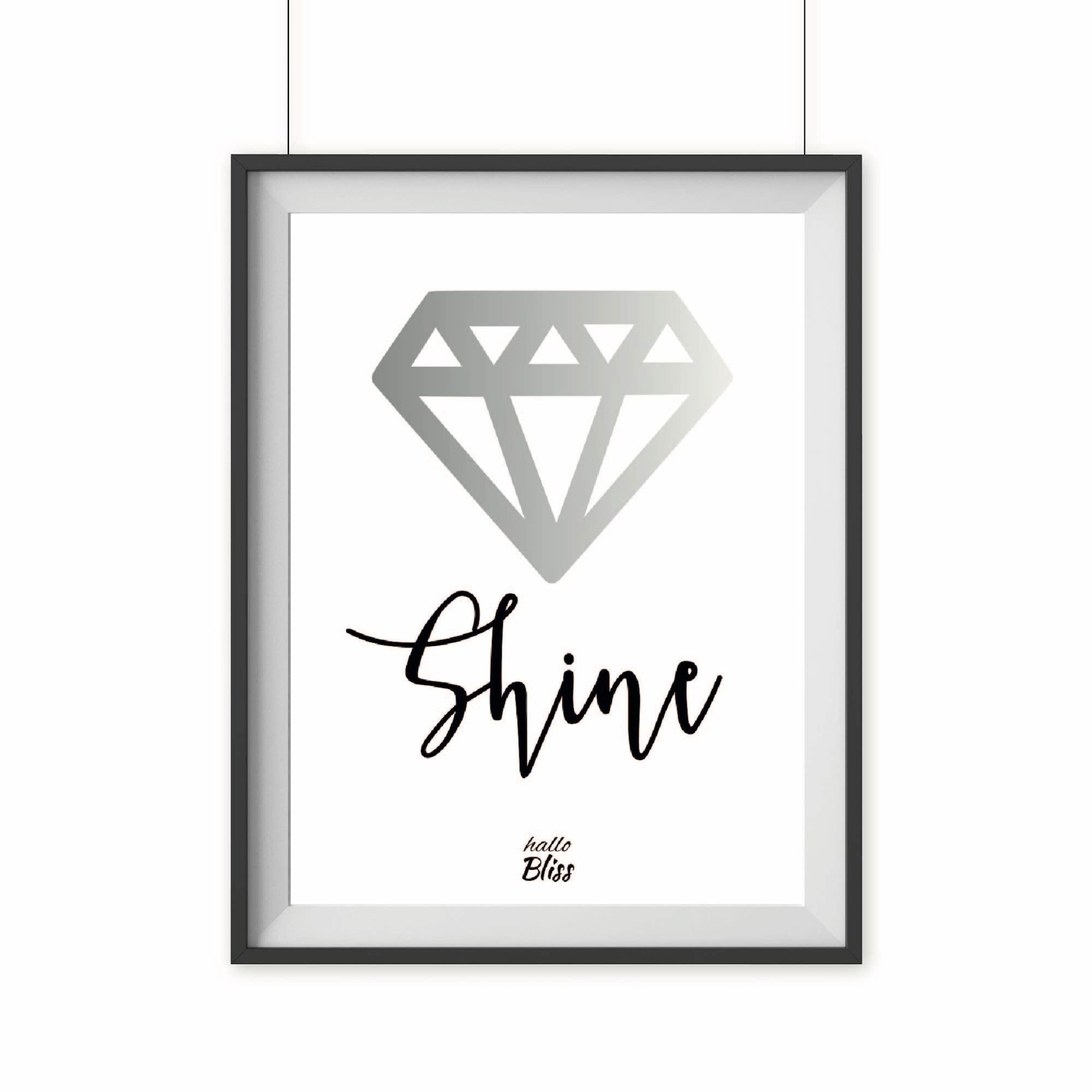 Poster DIAMANT - halloBliss