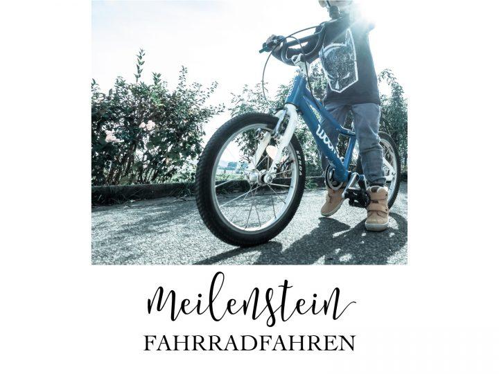 Meilenstein Fahrradfahren // WOOM BIKES