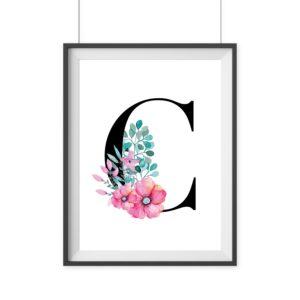 print Geschenk Geburtstag wanddekoration