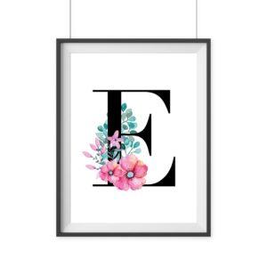 Print Geschenk Buchstaben Wanddeko
